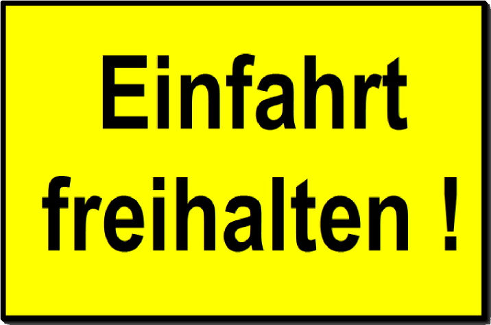 DESI_Einfaht_freihalten_gelb