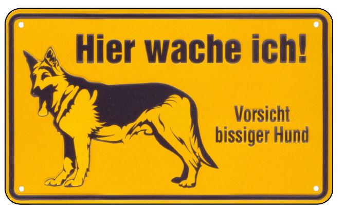 DESI_Hund_hier_wache_ich_gelb